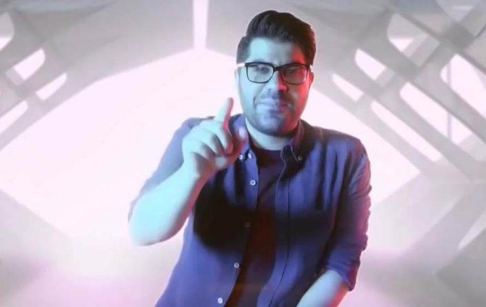 ضبط موزیک ویدیوی پرسه از حامد همایون در استودیو کروماکی فردا به کارگردانی برادران بوشهری