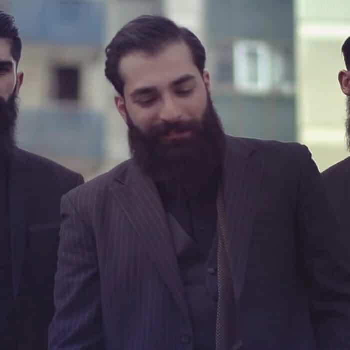 ضبط موزیک ویدیوی هیهات از حمیدصفت