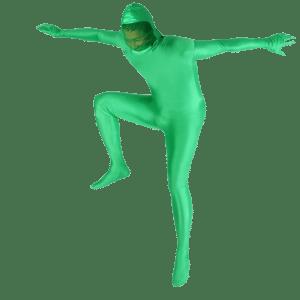 لباس کروماکی سبز